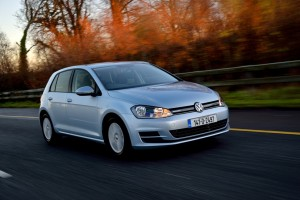 The Volkswagen Golf was the top-selling model in February and Volkswagen was the top-selling brand.