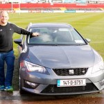 SEAT present Munster squad with new SEAT range